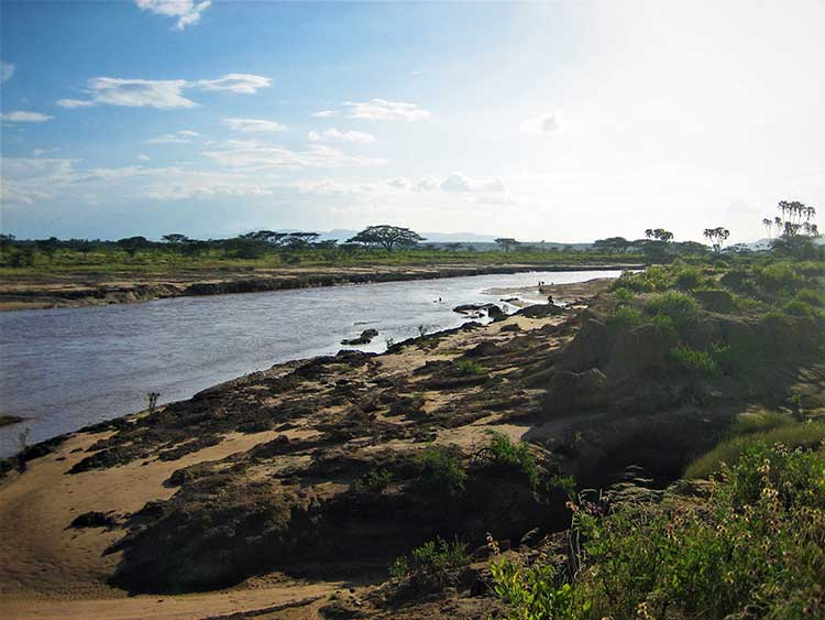 Samburu National Reserve in Kenya