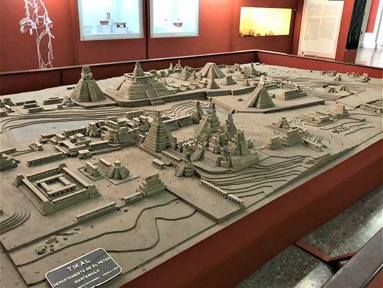 Model of Tikal