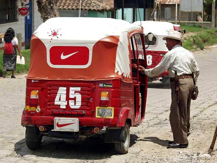 Taxi in Guatemala