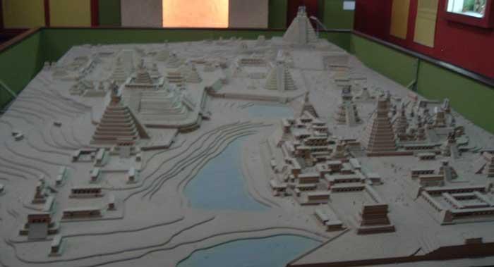 Tikal reconstruction