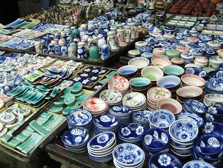 Vietnamese dishware