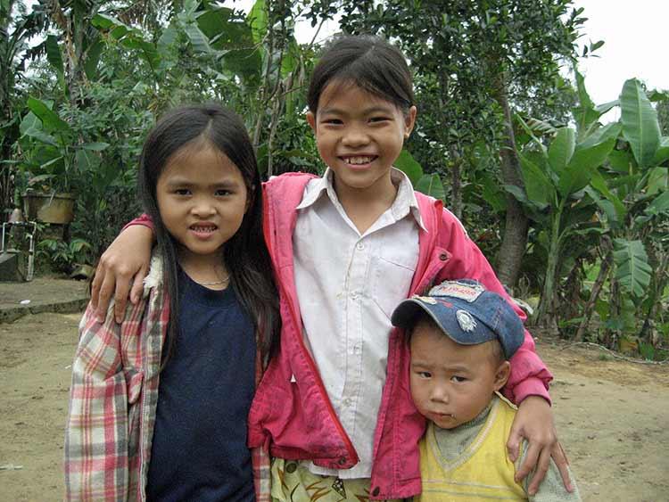 Vietnamese kids